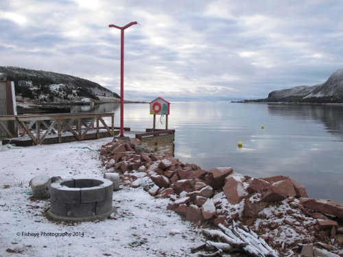 Morning, St. Jacques Harbour, 2014-12-29