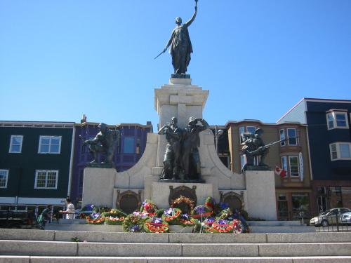 National War Memorial of Newfoundland and Labrador, St. John's