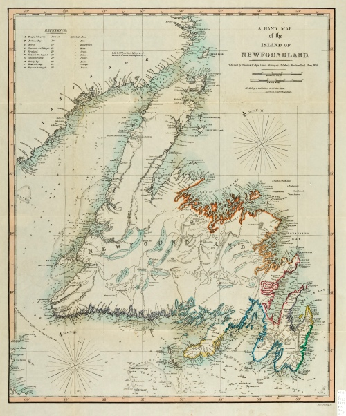 Frederick R Page Map NL1859